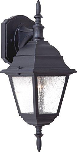 Minka Lavery Outdoor Wall Light 9067-66 Bay Hill Exterior Wall Lantern, 75 Watts, Black