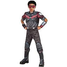 Rubie's Costume Captain America: Civil War Falcon Deluxe Muscle Chest Child Costume, Large