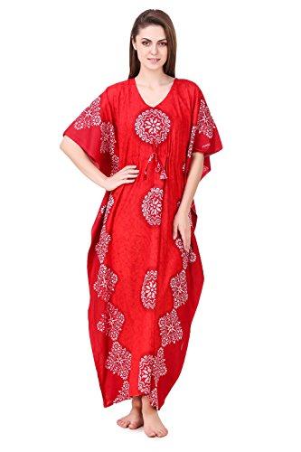 3f700e4b13 Masha Women's Cotton Kaftan Nighty - Buy Online in Oman. | Apparel ...