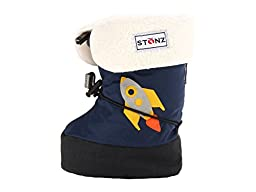 Stonz Booties Liner Linerz Insert - Keep kids feet Cozy Warm for Fall Winter Snow and Rain, Medium