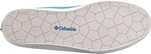 Columbia Mens Dorado Slip Pfg Sneaker Splash / Orange Blast