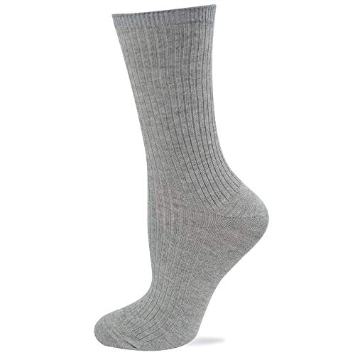 Hot Sox Women's Rib Cashmere Blend Socks