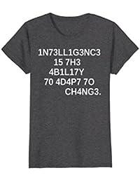 1N73LL1G3NC3 15 7H3 4B1L17Y T-Shirt