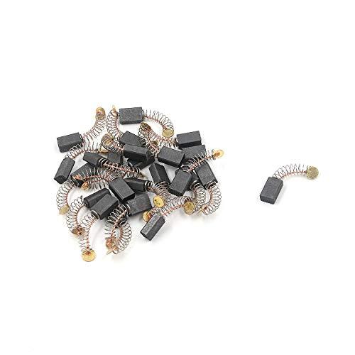 FarBoat 30Pcs Carbon Motor Brushes Electric Rotary Motor Tool for Electric Motors Spare Part Repair