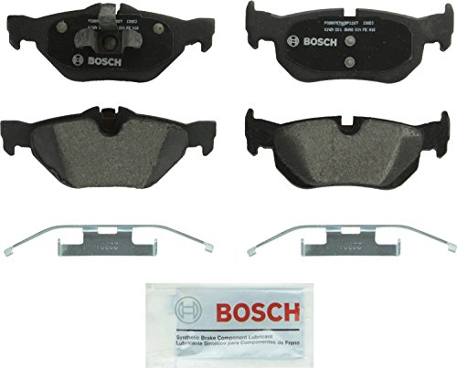 Bosch BP1267 QuietCast Premium Semi-Metallic Disc Brake Pad Set For: BMW 1 Series M, 128i, 323i, 328i, 328i xDrive, 328xi, X1, Rear