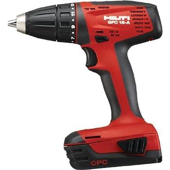 hilti sfh 18 a cpc hammer drill driver kit. Black Bedroom Furniture Sets. Home Design Ideas