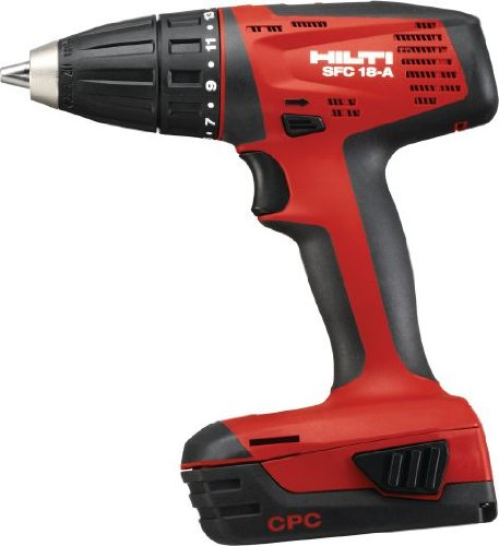 Hilti SFC 18-A CPC 18v Lithiom-Ion Compact Drill/Driver Kit