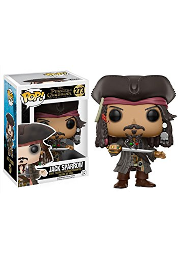 (Funko POP Disney Pirates of The Caribbean Jack Sparrow Action Figure)