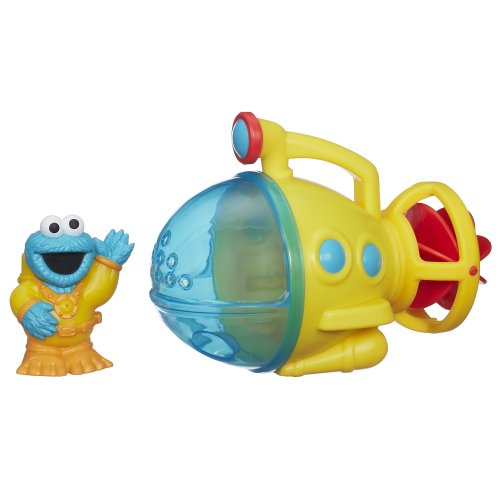 Sesame Street Cookie Monster Bath Submarine Toy (Sesame Street Cookie Monster Bath Submarine Toy)