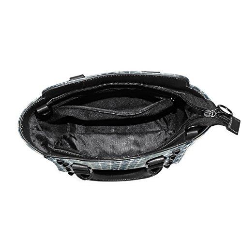 Shoulder Women's Bags TIZORAX Geometry Tote Leather Handbags TIZORAX Geometry wt7qY