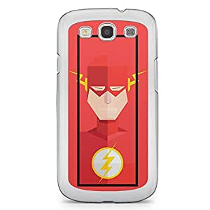 Flash Samsung Galaxy S3 Transparent Edge Case - Street Fighter Polygonal Collection