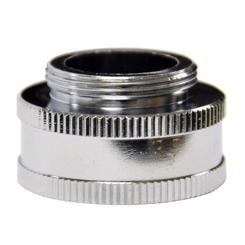 Danco, Inc. 10511 Garden Hose Adapter, 3/4 X 55/64-27, Ghtf X Male, Chrome Plated, 3/4