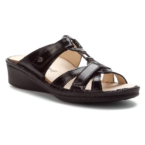 Finn Comfort Women's Cambria Sandals,Black Patent,5 M UK by Finn Comfort
