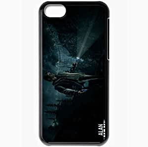 Personalized iPhone 5C Cell phone Case/Cover Skin Alan Wake Black