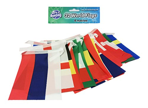 World Cup 2018 FIFA Soccer Small Flags 3.9