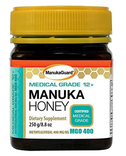 - Manukaguard Medical Grade Manuka Honey 12+ Dietary Supplement, 8.8 Ounce