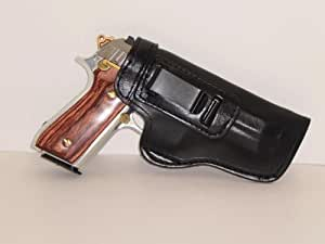 LEFT HAND HD BLK DESERT EAGLE 50 PRO CARRY INSIDE THE WAISTBAND CONCEALED CARRY GUN HOLSTER THE HOLSTER STORE