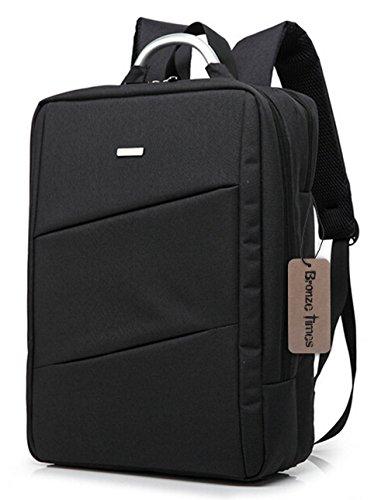 bronze-times-tm-14-inch-premium-water-resistant-canvas-laptop-briefcase-travel-backpack-c-black