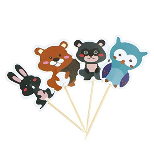 Cake Decorating Supplies - Cartoon 24pcs Lot Owl