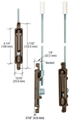 Offset Flush Bolt - 5