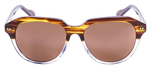 Lenoir Eyewear LE10000.5 Lunette de Soleil Mixte Adulte, Marron
