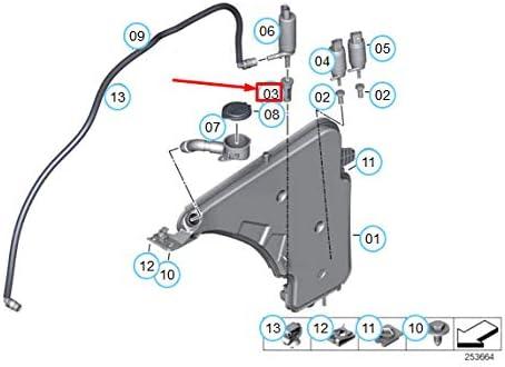 GTV INVESTMENT X5 E53 Gromet Sieb f/ür Scheinwerferwaschpumpe 61678374382