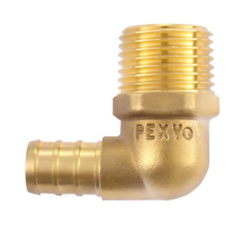 Litorange 3 PCS Lead Free Brass Construction 1/2