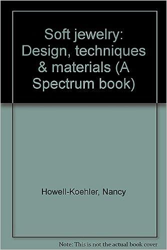 Soft jewelry Design techniques materials A Spectrum book