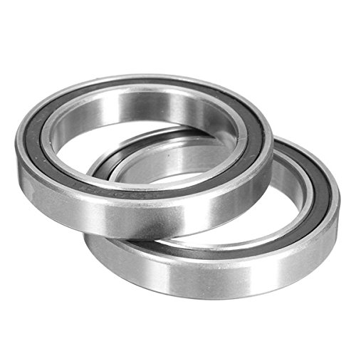 (2Pcs 6806-2RS Ceramic Bearings for Cannondale Rotor BB30/PF30/BB 386/BB Right Bottom Bracket)