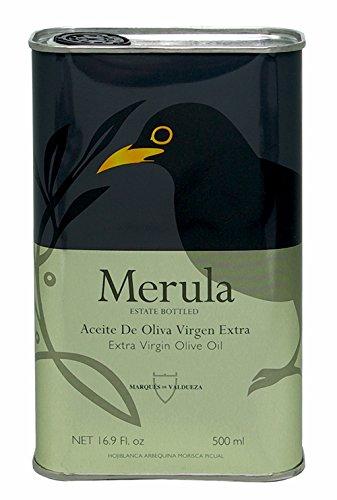 Aceite De Oliva Virgen Extra Merula Marqués De Valdueza 500 Ml.: Amazon.es: Alimentación y bebidas