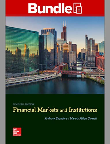 GEN COMBO LOOSELEAF FINANCIAL MARKETS AND INSTITUTIONS; CONNECT ACCESS CARD
