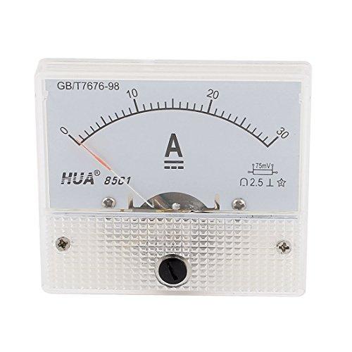1xDC 0-30A 30A Panel Analog Ammeter Ampmeter Meter Gauge 85C1