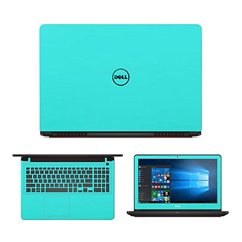 Mint Green skin decal wrap skin Case for Dell Inspiron 15 7559 15.6' Laptop