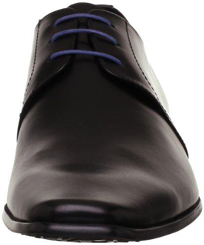 Belmondo 659713/E - Zapatos con cordones de cuero hombre Negro