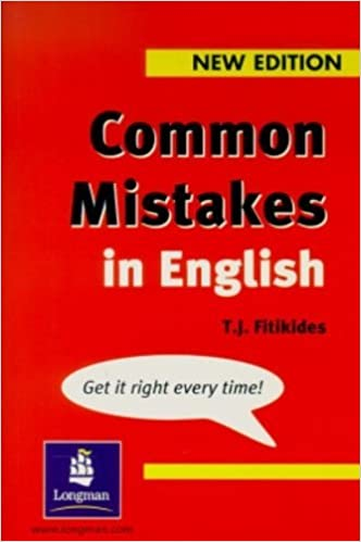 mistakes english book in common