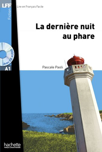 La Dernière Nuit Au Phare. Nouveauté A1 Livre Avec CD Mp3  Livre Scolaire  Lff  Lire En Francais Facile