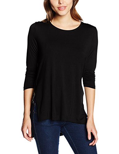 Only, Camisa para Mujer Negro (Black)