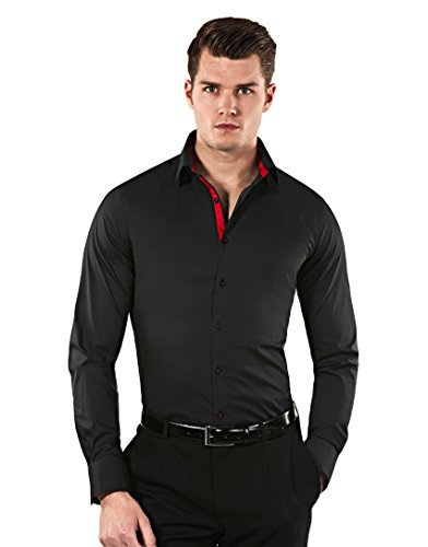 vincenzo-boretti-mens-shirt-body-fit-stretch-speciallyblack-wine-red15neck