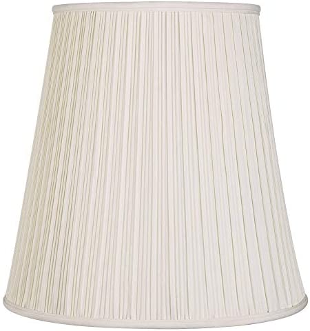 Creme Mushroom Pleat Lamp Shade 12x18x18 Spider – Springcrest