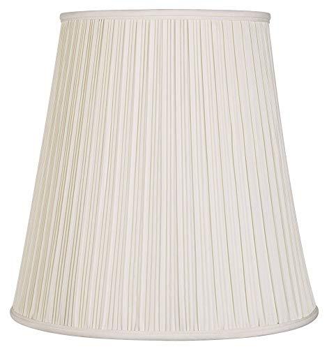 Creme Mushroom Pleat Lamp Shade 12x18x18 (Spider) - Springcrest (Shades Lamp Tall)