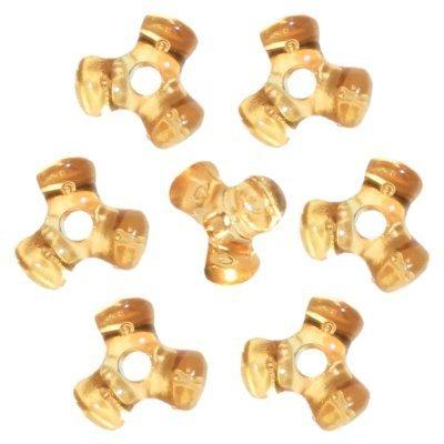 Acid Yellow Tri-Shaped Beads (1,000 Beads)