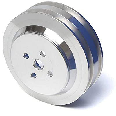 2 Groove Water Pump Pulley for Big Block Ford 429 460 Engines (385 Series): Automotive