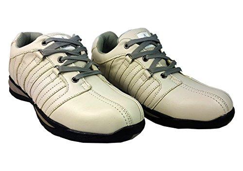 talla HIKER para Gorra tobillo de con inoxidable 8 zapatillas Gris Starex Blanco UK 42 zapatos de EUR deporte para de acero hombre 4qYxwOZ