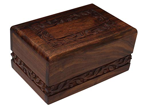 wood urn for dog ashes - 8