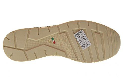 Giardini De Las Zapatillas Perlato Mujeres P805241d Nero Beige Deporte Bajas 505 RqCwnwTS
