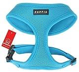 Puppia Soft Dog Harness (Mesh) Blue Medium, My Pet Supplies