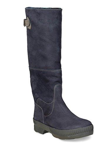 Dierentuin Avontuur - Adora - Waterdichte Outdoor Laarzen En Winter Laarzen Van Leer Voor Dames Marine / Blauw 047