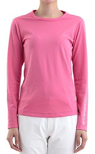 MU SPORTS(エム ユースポーツ) 2016ss レディスウェア L長袖シャツ ピンク XLサイズ 701U3402   B01AWDQ9ZO