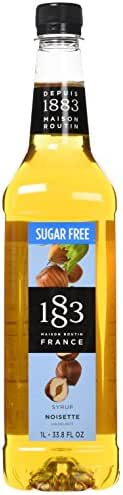 Honeys & Syrups: 1883 Maison Routin Sugar Free Syrup