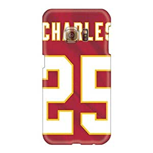 Durable Hard Phone Case For Samsung Galaxy S6 (Ppn595akTT) Provide Private Custom High Resolution Kansas City Chiefs Series